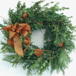 Boxwood and Ting Copper Wreath